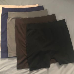 Other - 5 Pairs Slip Shorts/ Under Shorts OS Queen
